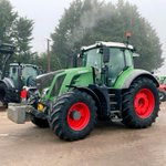 Image for the Tweet beginning: Misty Monday. Fendt 828 and