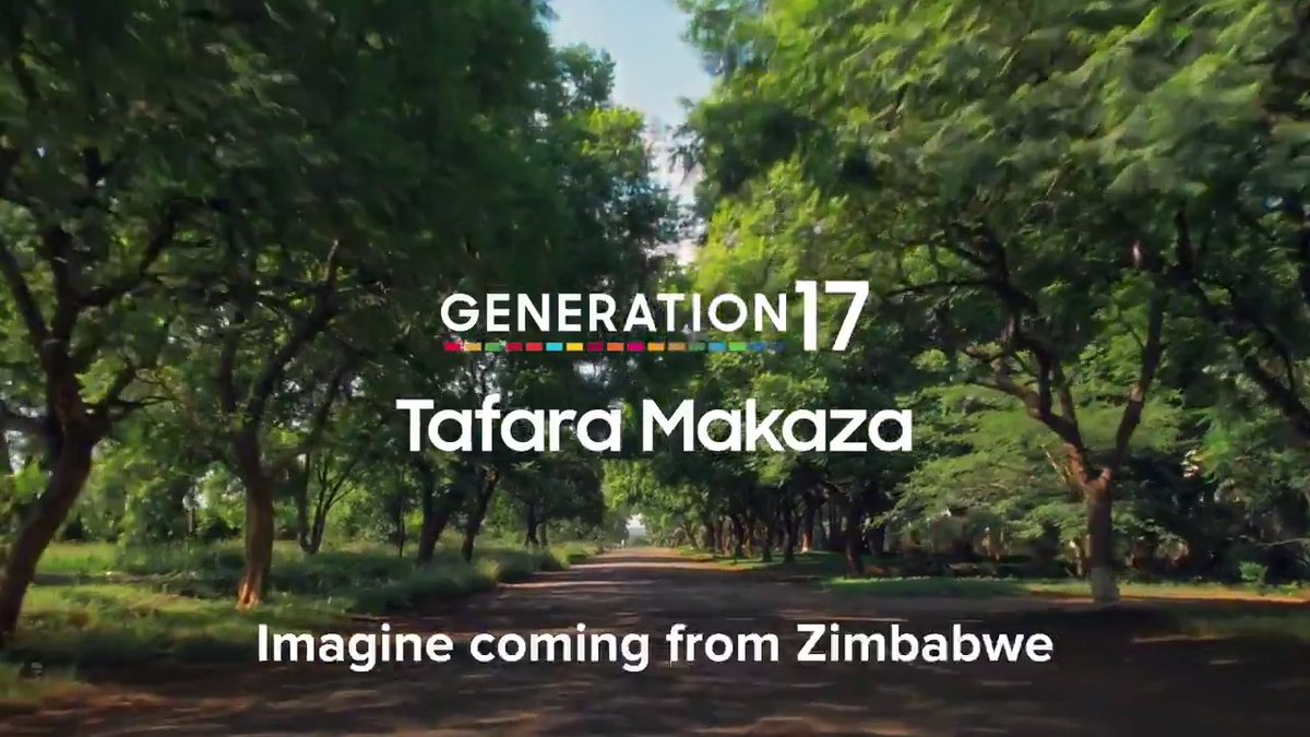 """Wherever the biggest problems are, you have the biggest opportunities."" Tafara,  @captain_zim, our #Generation17 leader with  @SamsungMobile, makes solutions out of problems. See how he's using tech to unlock the #GlobalGoals:   #SamsungGlobalGoals"
