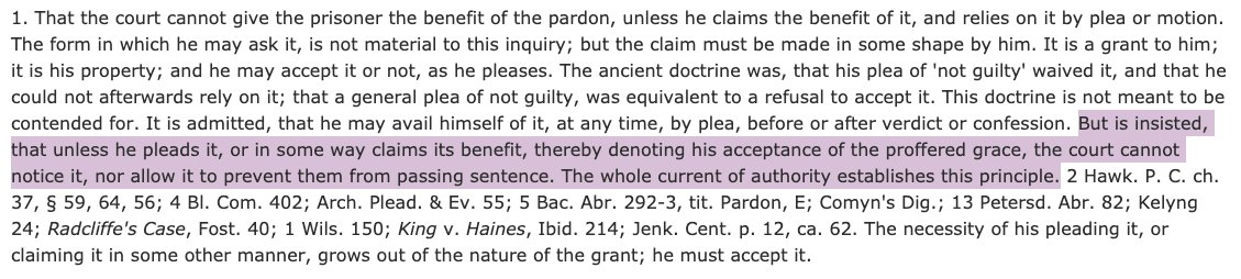 Ok, color me confused. President Trump pardoned Michael Flynn on November 25. According to the Flynn docket, there is still no motion to dismiss the case based on the pardon. I know it's a holiday weekend. And I'm certainly no expert on pardons, But I'm pretty sure that: https://t.co/7OyAOq9Bx6