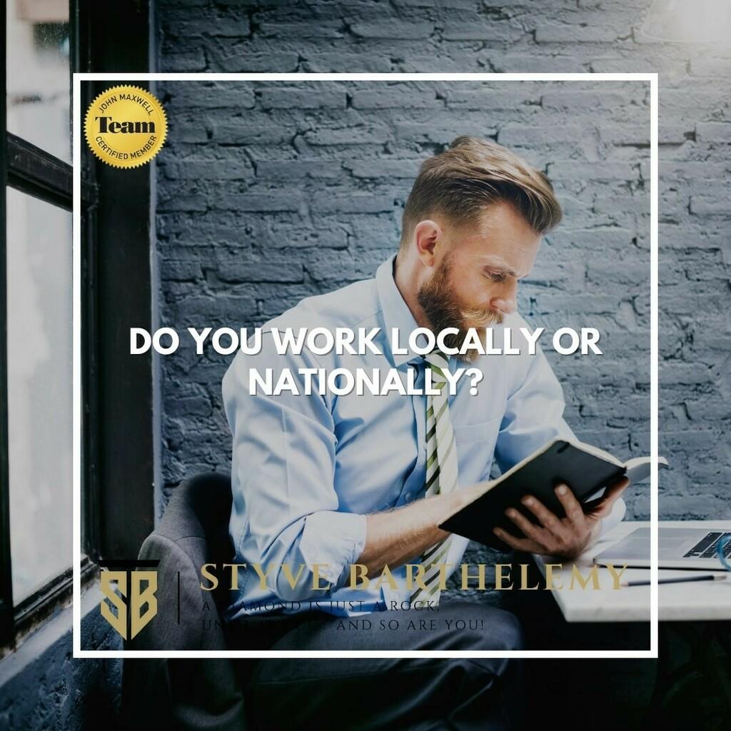 Where do you work? . . Do you work locally? . . Do you Work Nationally? . .  #cute #instagood #beautiful #dandg #picoftheday #cocochanel #girl #brandonflowers #love  #lovely #branded #instabrands #good #photooftheday #brands #me #brandy #iphonesia #chane…