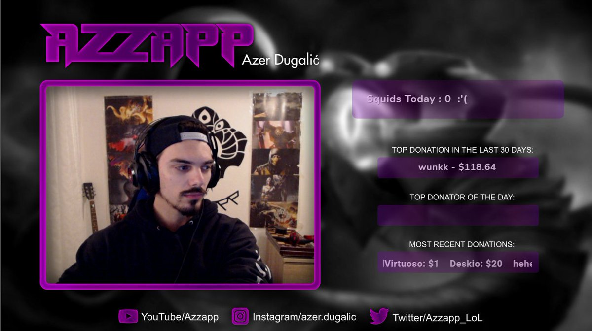 Azzapp - Stream up, crushing the best players in the world with a useless champion!    #VelKoz #LeagueOfLegends #Streamer #twitchStreamer #twitchPartner #Twitchtv #Twitch #TwitchStreamers