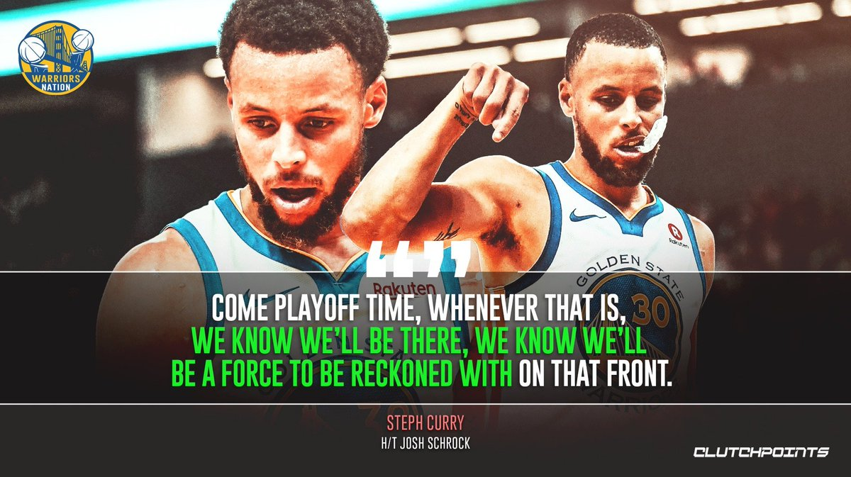 Don't count Steph Curry and the Warriors out 🏆