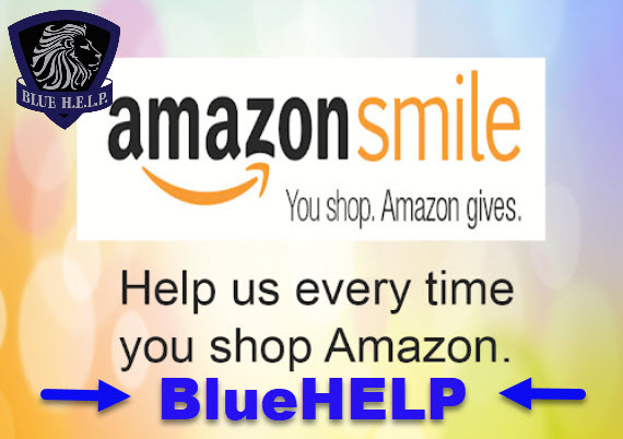 Choose Blue H.E.L.P. during your #Amazon #CyberMonday  shopping!  #BlueHELP #AmazonSmile #Shopping  #Charity