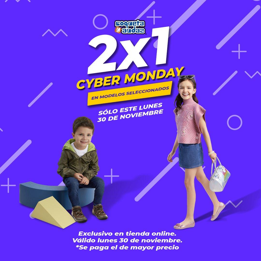 ¡ SÓLO HOY !   24 horas con 2x1 en modelos seleccionados ⏱️ de tienda online.  Aprovecha el #CyberMonday en #CoquetayAudaz aquí:
