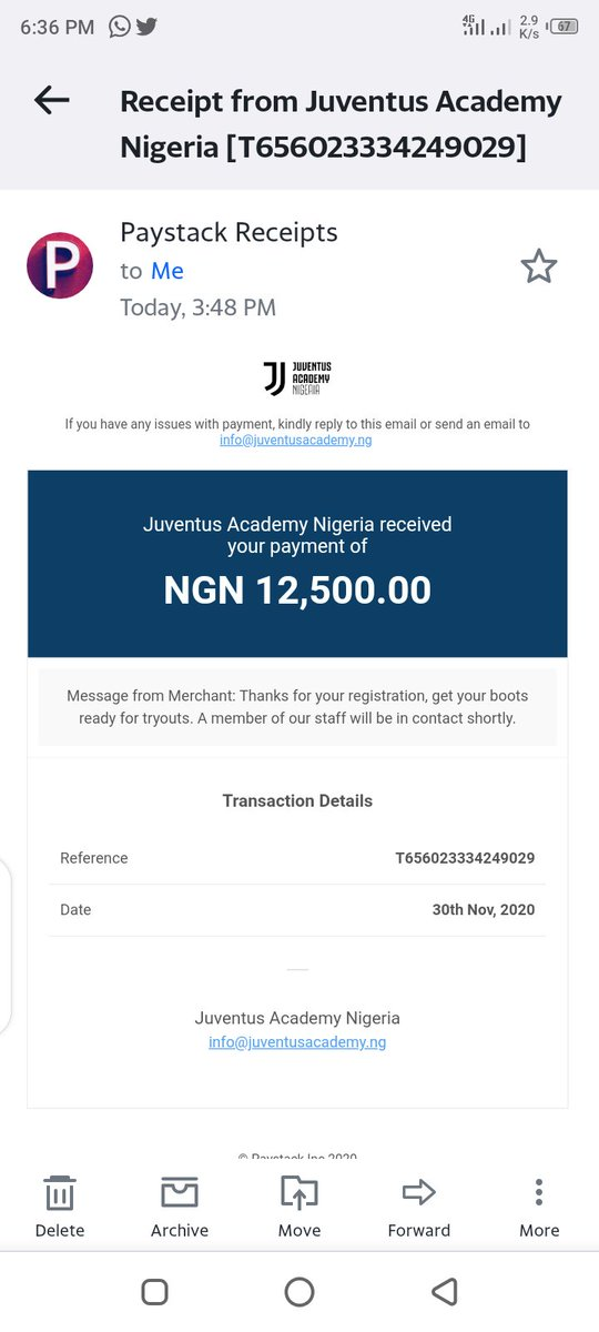 My Son Is Going to Juventus Academy Tryouts Courtesy of one of My Great Superion. ⭕⭕⭕⭕⭕. Am Proud to be a Member of this Great Team and Am Prouder to be an Ozo Stan #OzoXBrilaFM  #JAcademyRegistration https://t.co/8VNlaCE7z3