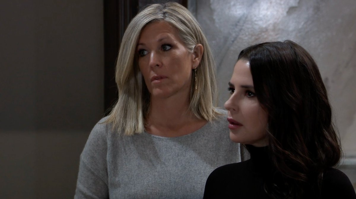 Sam isn't sure she wants to be married to the mob anymore. Can Carly talk her off the ledge? A tense, new #GH starts RIGHT NOW on ABC! @kellymonaco1 @lldubs https://t.co/AJQdALP1sr