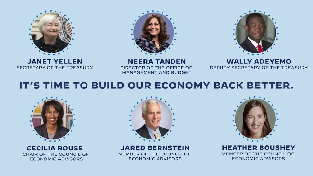 It's time to rebuild an American economy that works for all of our families and the next generation.  It's time to ensure every American enjoys an equal chance to get ahead.  It's time to build our economy back better.