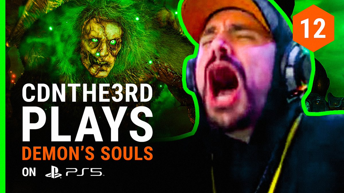 Ladies and gentlemen, @CDNThe3rd's first time playing Demon's Souls.  Watch Ceez battle through the Demon's Souls remake on his brand new @PlayStation 5. [+]  📺 Watch full episode:    #TheViewage