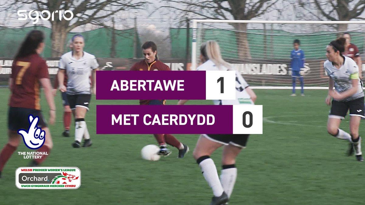 Image for the Tweet beginning: Uchafbwyntiau | Highlights  @SwansLadies 1-0 @CardiffMetWFC  @theWPWL