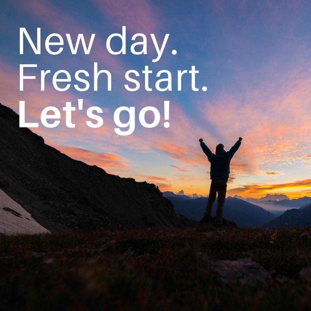 New day. Fresh start. Let's go! #MondayMotivation #ShepFamilyChiro @ShepFamilyChiro