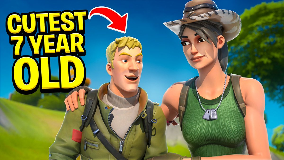 parallel dxtr - I Met the CUTEST 7 YEAR OLD in RANDOM DUOS and This Happened...  via @YouTube