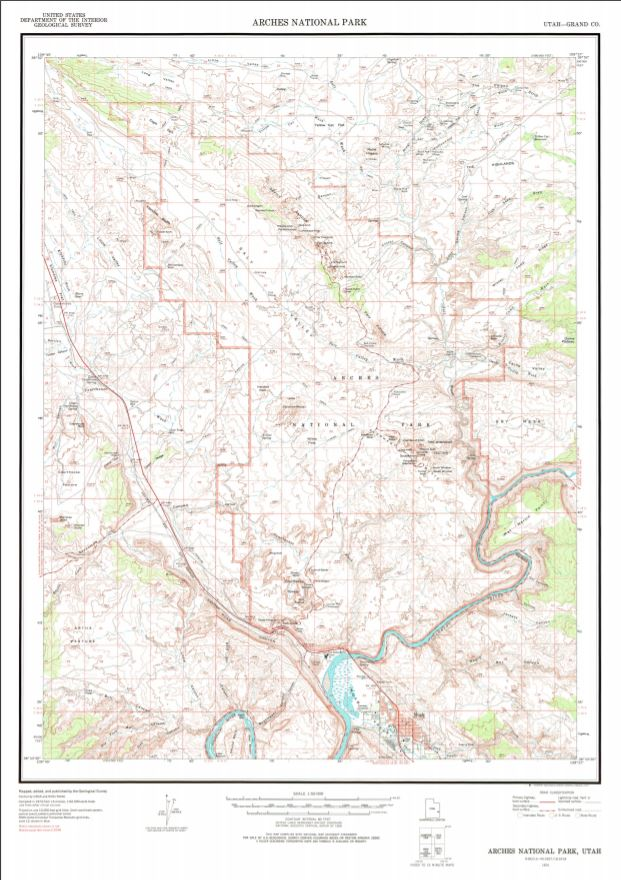 It's #FreeMapMonday! Retweet and follow us for a chance to win the map of Arches National Park, UT!   #USGSStore (U.S. residents only)