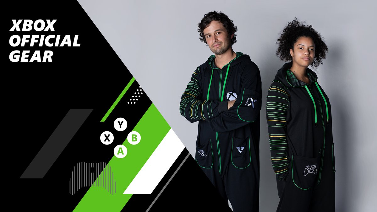 It's back! The new Xbox Series X Hooded Union Suit is now available for pre-order for limited release at US & Canada Microsoft Stores