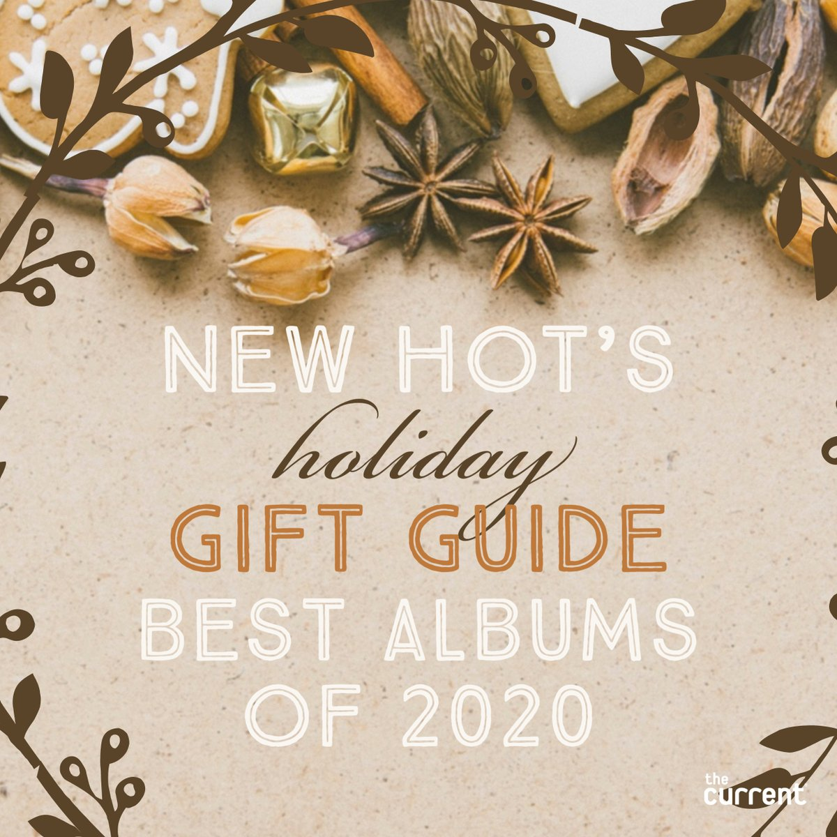 This week on New Hot, @dbsafar presents part 2 of New Hot's holiday gift guide to the best albums of 2020. Listen Monday starting at 10 p.m. Central. thecurrent.org/listen