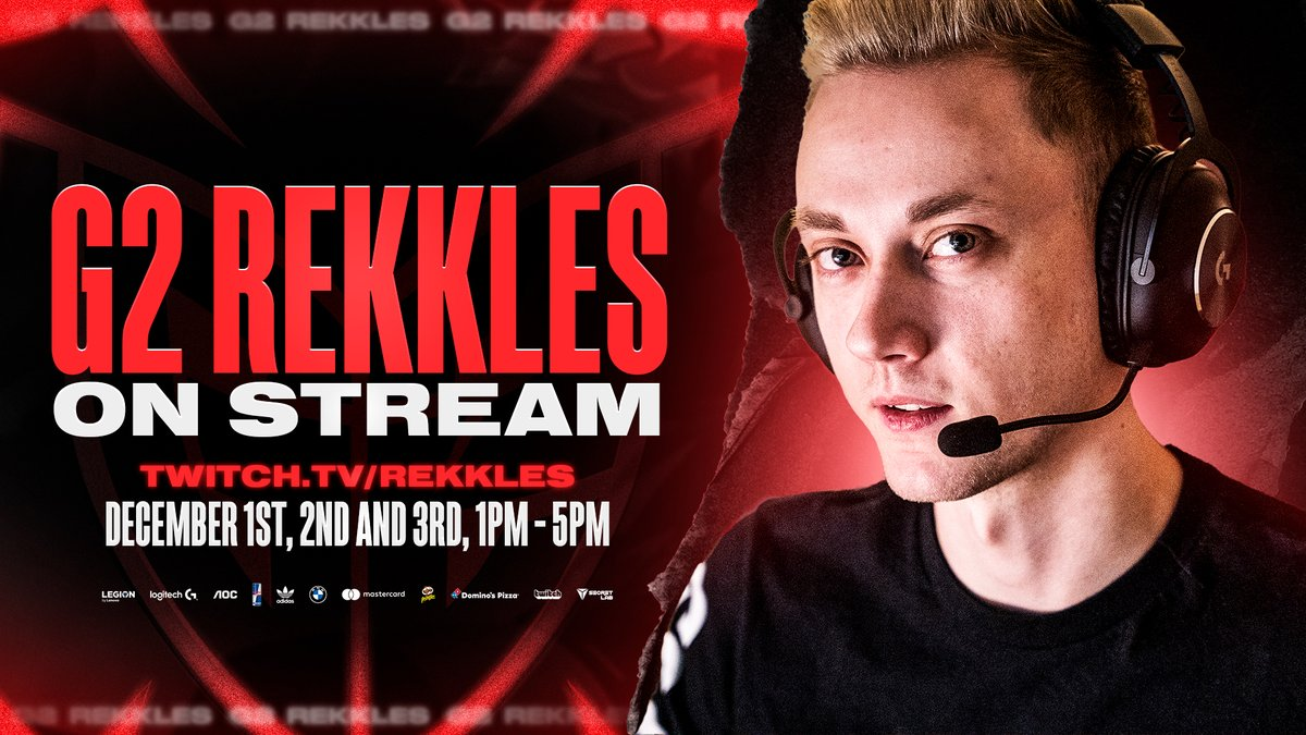 Don't miss the king 👑  Tune in tomorrow for G2 @RekklesLoL's first stream at 13:00 CET!  📺 https://t.co/W2nwd2d3oD https://t.co/50Lh6AsoSM