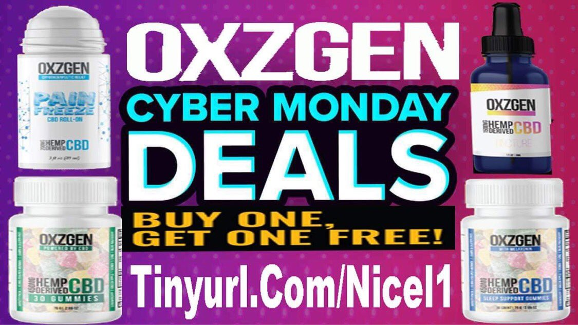 All this and more for #CyberMonday  #cbd #pain #painrelief #arthritis #migraine #backpain #kneepain #muscle  #massage #insomnia #depression #holistichealth #diabetes  #anxiety #immunesystem #inflammation #skincare #coffee #tea #weightloss #spa