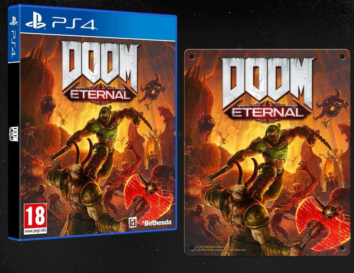 💥 #Videojuego Doom Eternal (Edición Exclusiva Amazon) por sólo 19,99€ ¡¡67% de descuento!!  👉   #CyberMonday