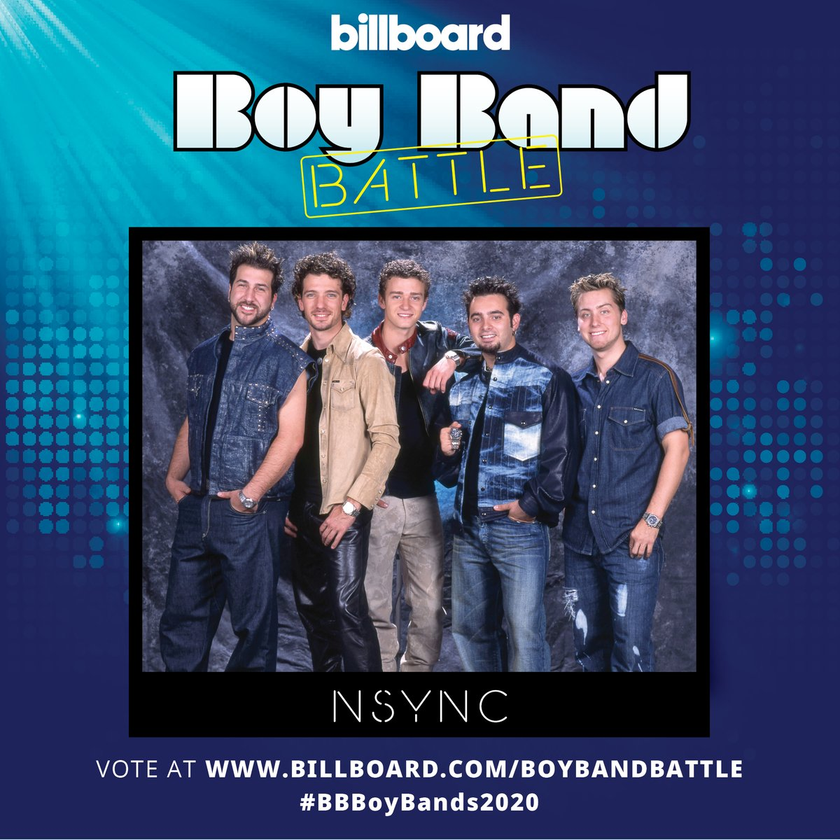 Vote for @NSYNC in round 2 of #BBBoyBands2020 here:
