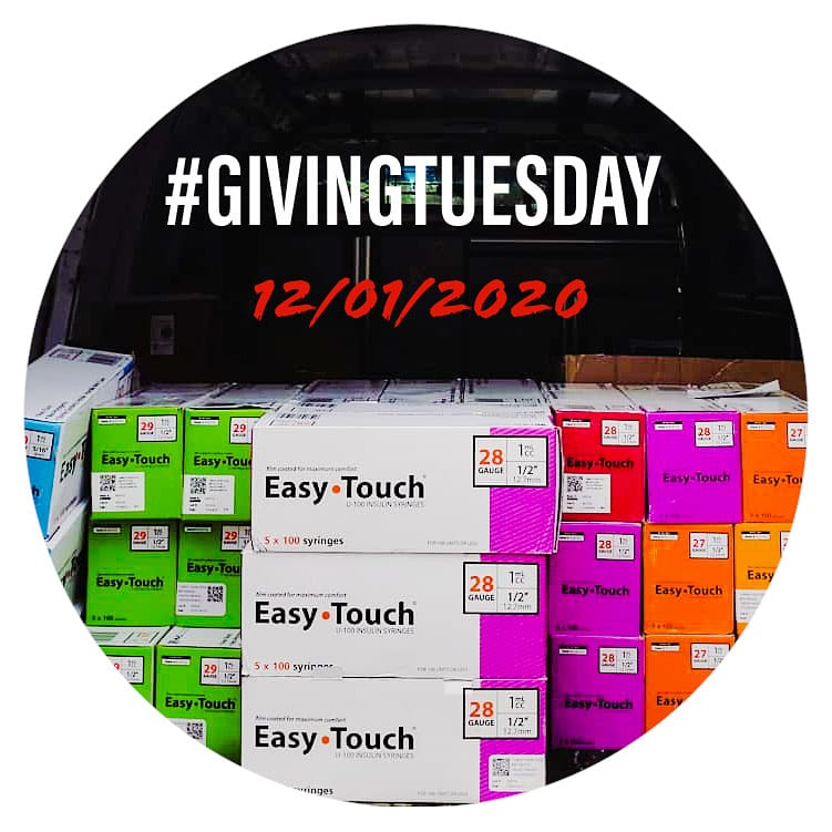 Tomorrow is #GivingTuesday and we have a goal to raise $2k to support our efforts in promoting drug user health. Any amount helps! 🤍  You can make a donation by visiting . Thanks for your support!