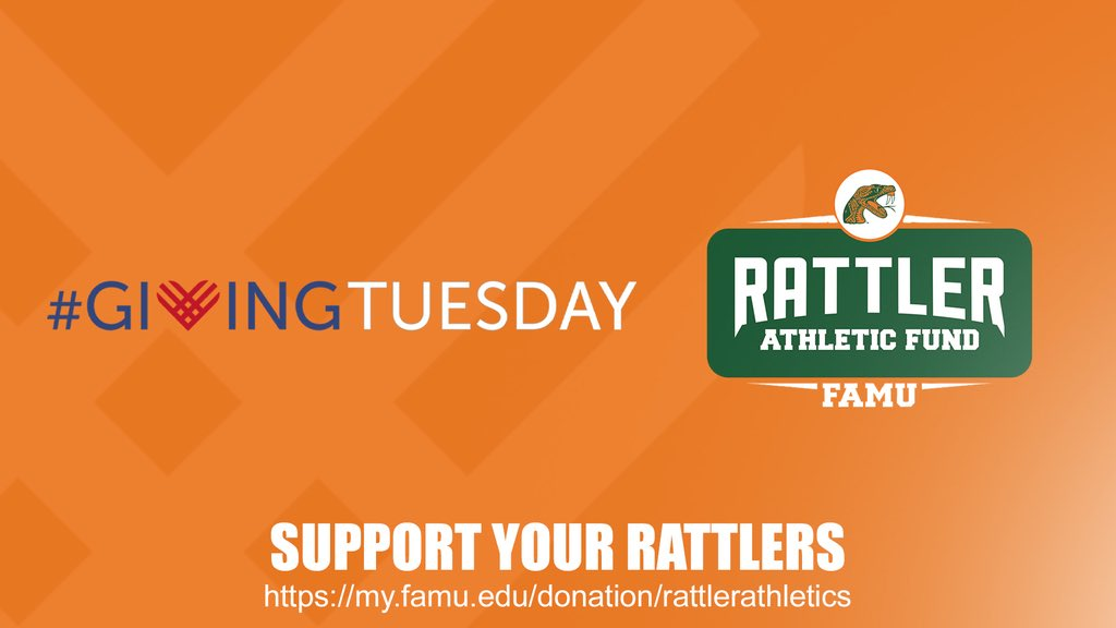Rattlers🐍🐍🐍 TOMORROW we need you to support @FAMUAthletics by participating in #GivingTuesday Your contribution helps deserving student-athletes accomplish the impossible! #GoRattlers #ALLIN #RattlersGive #Strike #Strike #StrikeAgain
