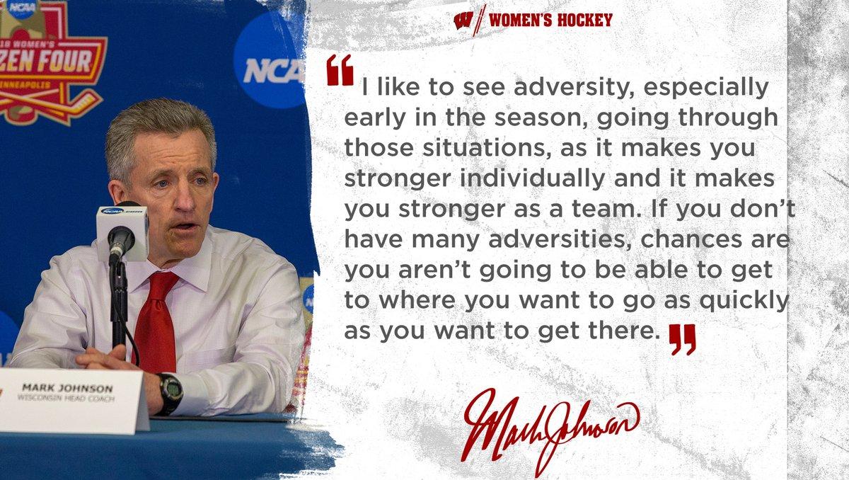 Well said, Coach Johnson!  #Badgers    #OnWisconsin