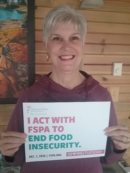 Join us and FSPA Affiliate Madalene Buelow tomorrow, Dec. 1, when your #GivingTuesday gift to end hunger and so much more will be matched up to $9,500! Visit  or call (608) 791-5282.