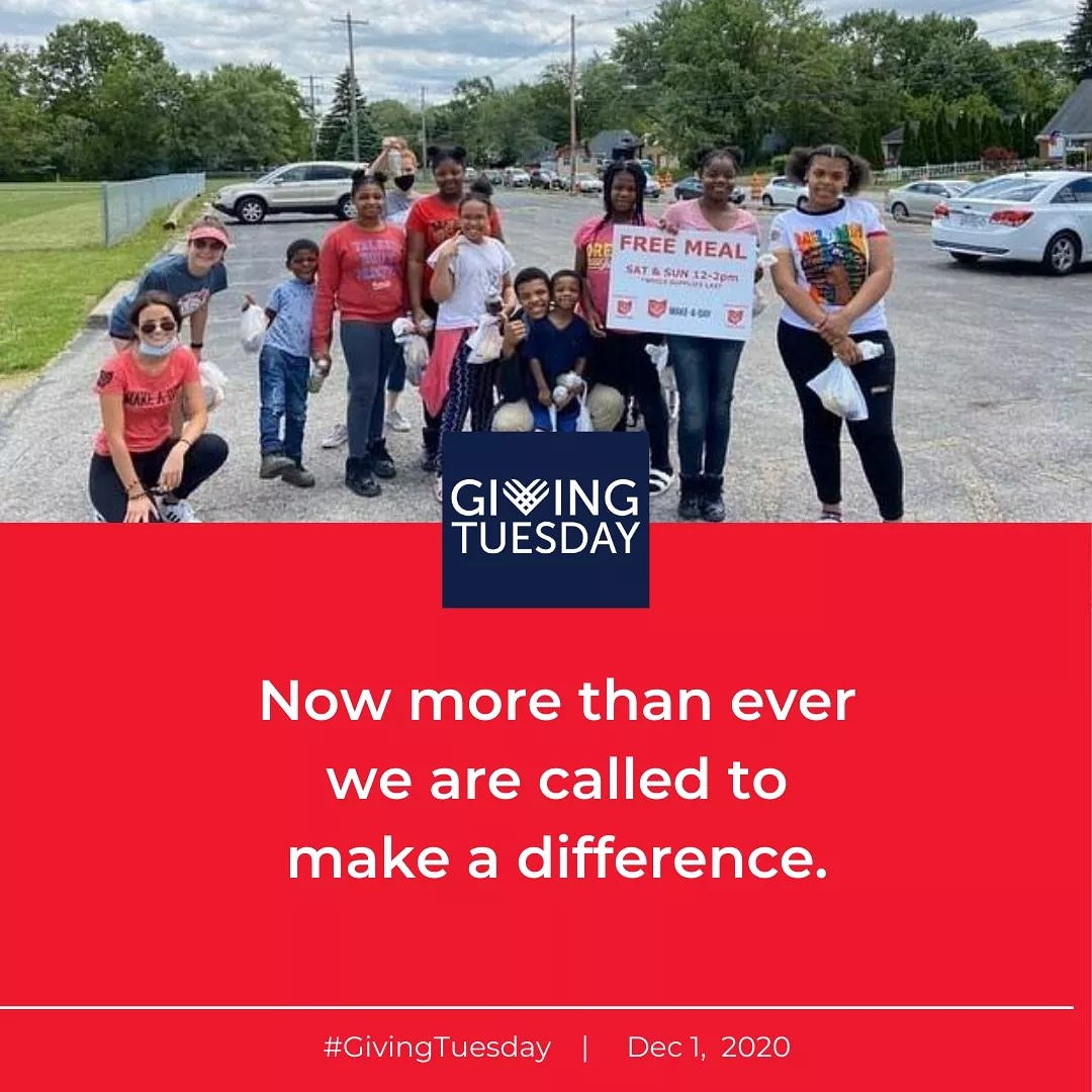 Tomorrow is Giving Tuesday. Join us to make a difference in our community! #GivingTuesday #FSAUnitedWay