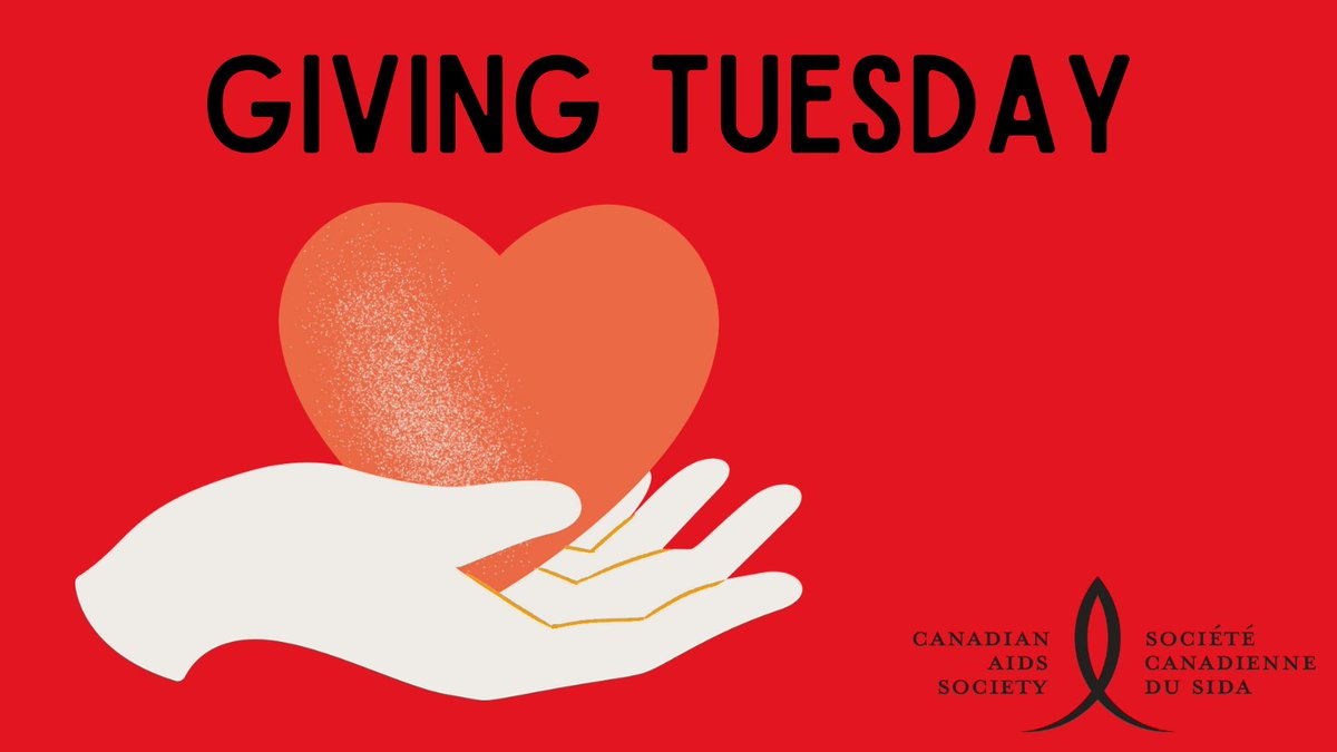 Tomorrow is Giving Tuesday! Now more than ever, CAS needs your support. To donate, visit . #HIVfightnotover #GivingTuesday