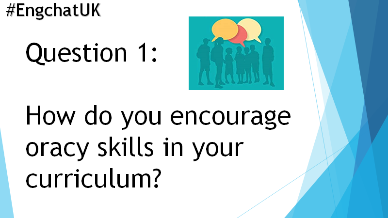 Here we go! Don't forget to respond with the hashtag #engchatuk.