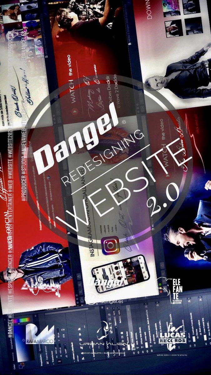 REDISEÑANDO https://t.co/I2tzlboDsz WEBSITE 2.0 _ MUY PRONTO DISPONIBLE!   #Dangel #cantante #español #todaviaquedanangeles #Studio #stillbelieveinangels #singer #urbanlatinremix #tudebesdecidir #Producer #web #website #songwriter #dangeles #entertainer #studiotime #productor https://t.co/fkCteMZgPH