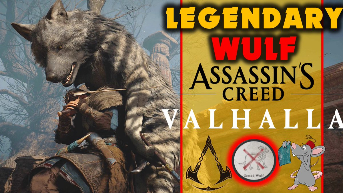 Jade PG - Assassins Creed Valhalla Legendary Hunt - GEMAD WULF Is A OP Doggo! Legendary creature guide @Assassins_UK @assassinscreed #AssassinsCreedValhalla   via @YouTube