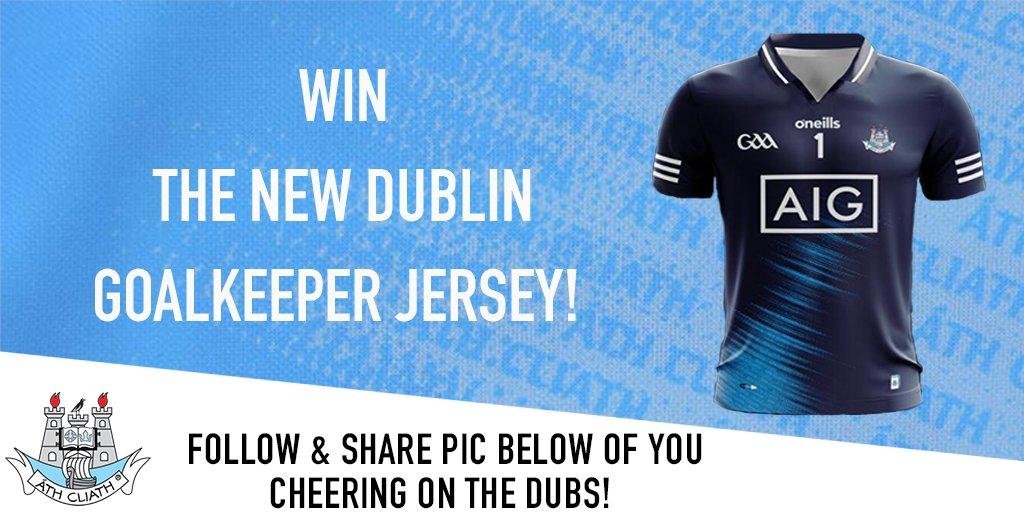 test Twitter Media - Who wants the new Dublin goalkeeper's jersey? 🔥  It goes on sale this Thursday @Elverys. And to celebrate, we've one to give away this week 🙌  #UpTheDubs https://t.co/qVqw4R5t7o