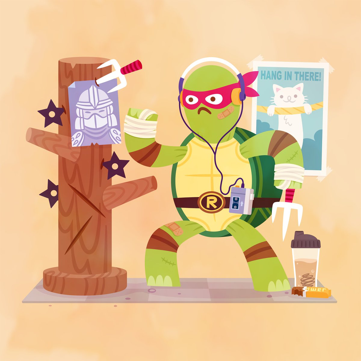 LAST CHANCE to give the gift of @TMNT. Today is the final day to pick up our Turtles' Day Off print set!   This gorgeous set is by San Diego artist Philip Tseng.   🐢  🐢