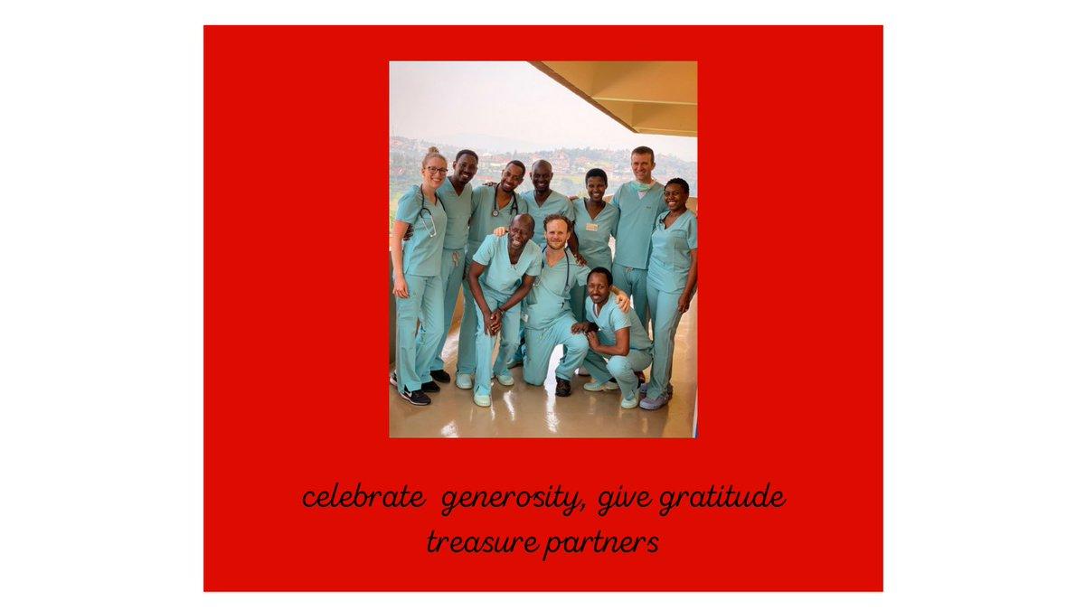 On #GivingTuesday, we give thanks to our volunteers, to our donors, and to our partners! @kfaisalhospital @RwandaNCDA @medsar_rwanda @RwandaHealth @Rwandaheartftn @RwandaVCP