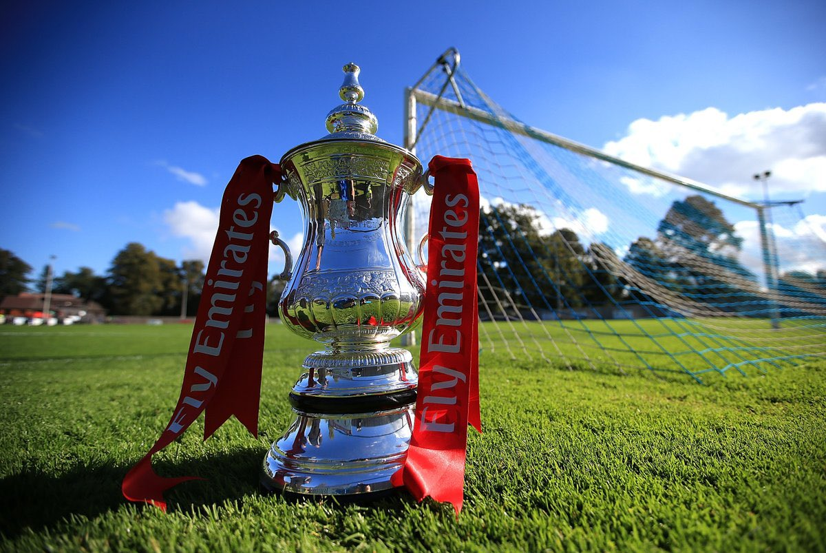 #EmiratesFACup 3rd Round Draw (Selected):  Aston Villa vs Liverpool Man City vs Birmingham Chelsea vs Morecambe So'ton vs Shrewsbury Marine vs Tottenham Wolves vs Crystal Palace Man United vs Watford Everton vs Rotherham Arsenal vs Newcastle Stoke vs Leicester  Your predictions? https://t.co/TlPBdKoHQT