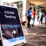 Image for the Tweet beginning: COVID-19 testing is still available