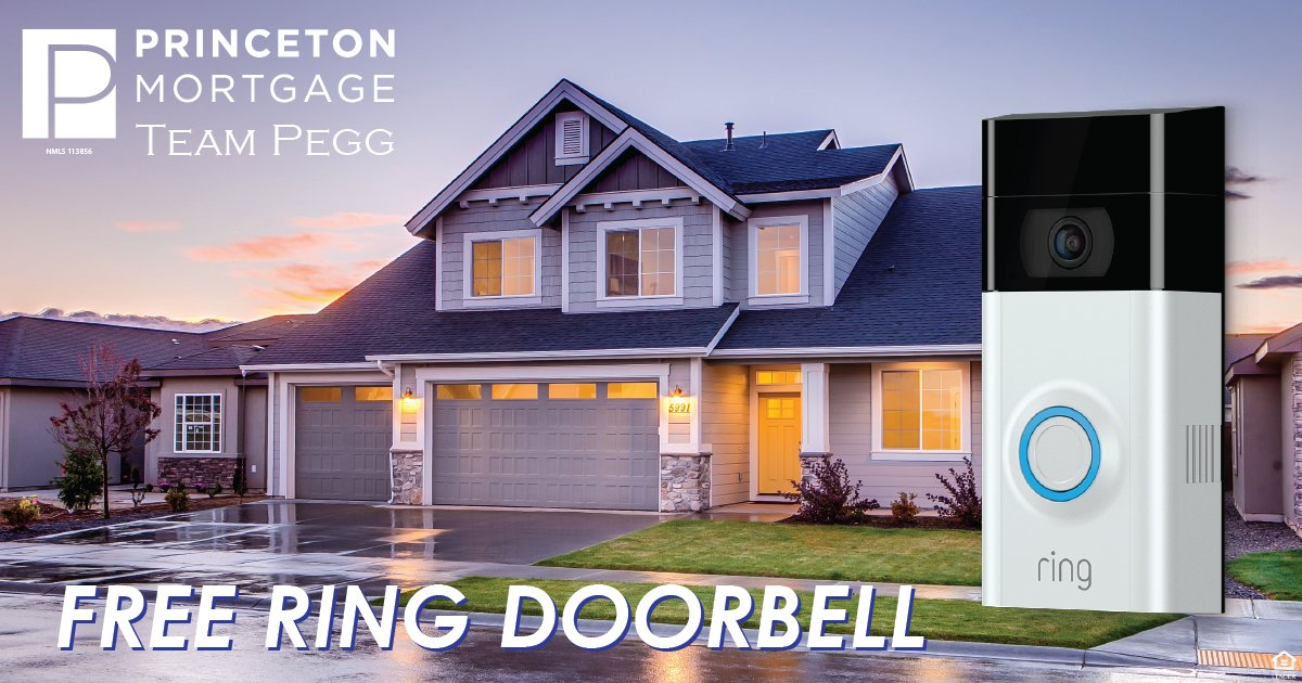 #CyberMonday is for wimps - #TeamPegg says make it #CyberWeek! Submit an application with Team Pegg any day this week and we'll give you a free Ring Doorbell upon closing.   #Effortless  #RingDoorbell  #MortgageGeorge  #FreeStuff