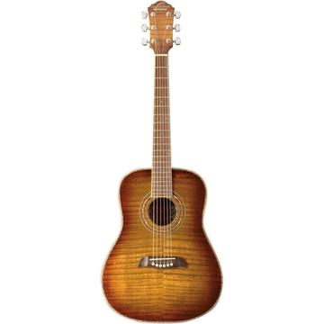 #Learn With a #Golden #Flame !!! #CyberMonday #Shop #Music  #Twitter #YouTube #InstaGram #Facebook   #OscarSchmidt OG1FYS 3/4 #Acoustic #Guitar Flame #Yellow Sunburst
