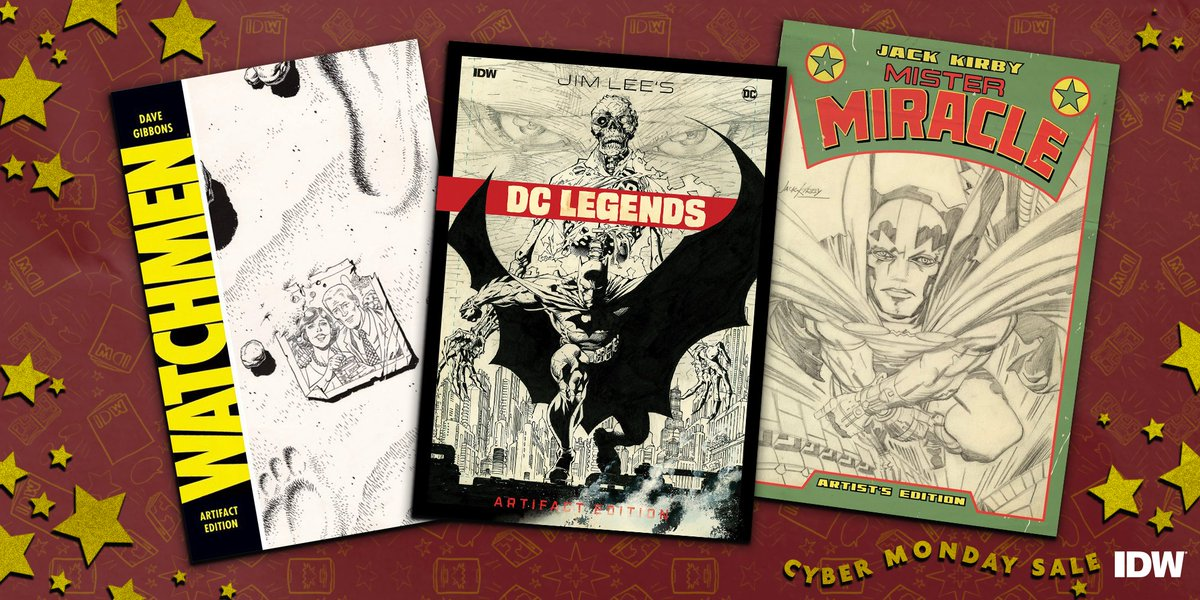 Check out Artist's Editions featuring your favorite characters for up to 40% off! #CyberMonday