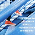 """Image for the Tweet beginning: """"Success is the sum of"""