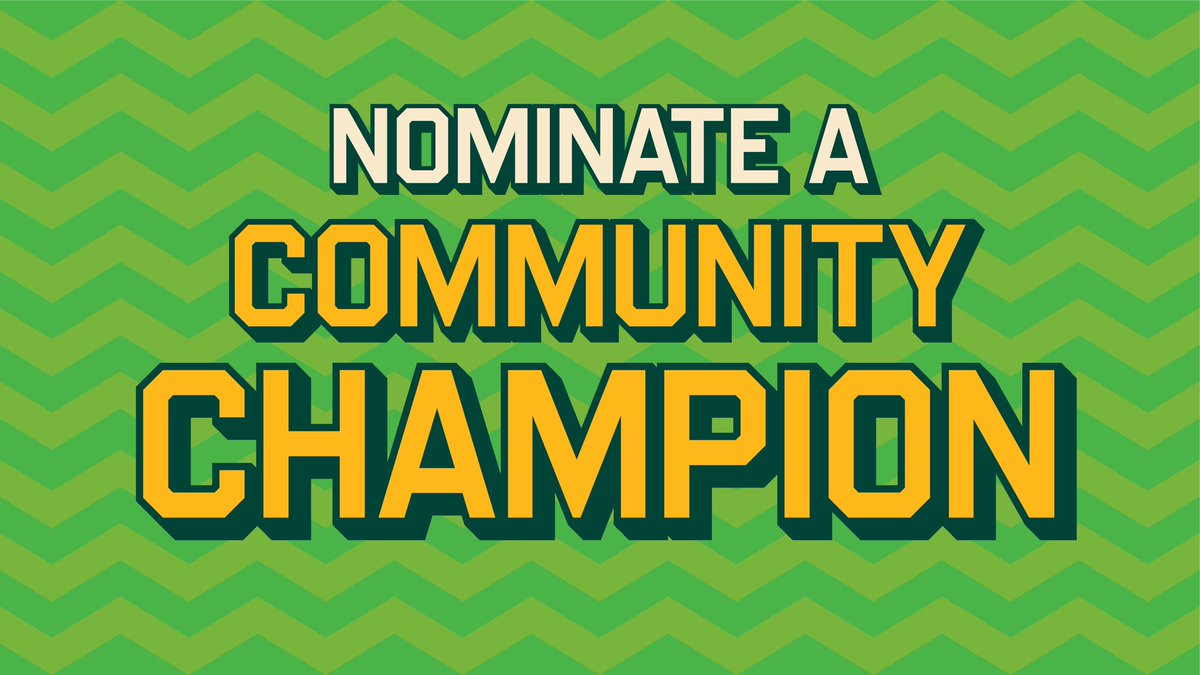 This holiday season, were celebrating those who made our communities brighter this year. Nominate someone you know and tell us what makes them a Community Champion. Weekly winners will receive a special As gift!  🔗 to nominate: athletics.com/communitychamp…