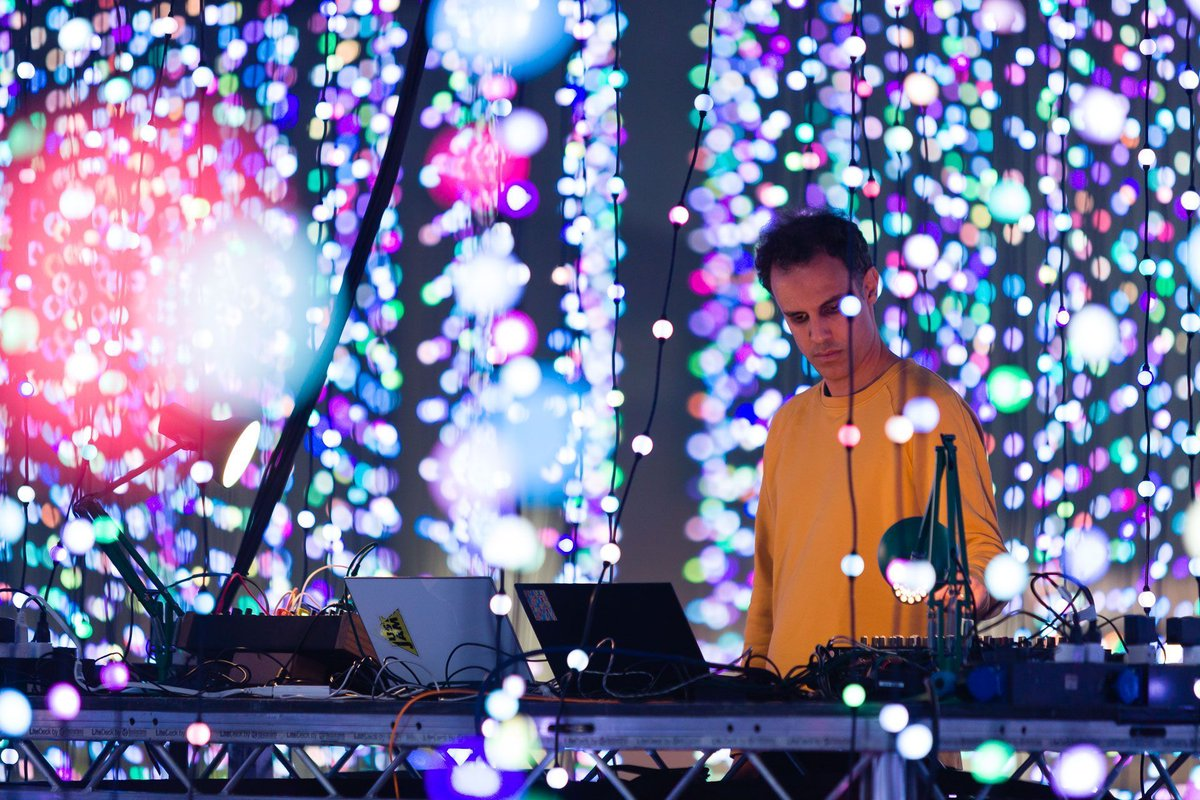 """.@FourTet is trying his hand at D'n'B as he puts his touch onto @DJKRUST's new album cut, """"Negative Returns"""" 