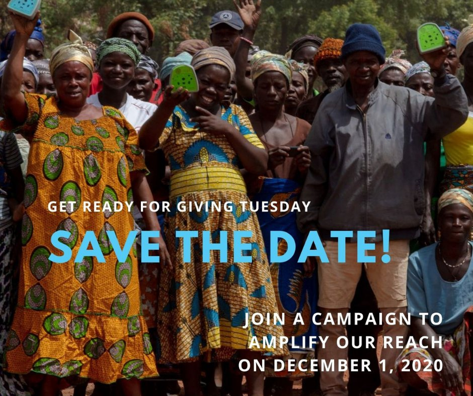 Tomorrow is #GivingTuesday, & we're launching our year-end fundraiser! Thanks to a generous offer from an anonymous donor, all donations up to $25,000 total will be MATCHED. Can you make a gift?  #AmplifyOurReach