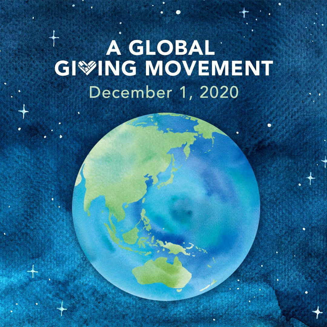 Todays the day! Australia has the honour of kicking off #GivingTuesday across the world (thanks date line!) - make sure you get involved today. Give back. Tell us your #MyGivingStory. Celebrate all the good acts weve seen during this difficult year. #GivingTuesdayAUS