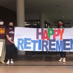 Image for the Tweet beginning: HAPPY RETIREMENT | Staff and