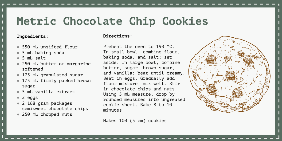 It's also National Cookie Day! Hey @MeCookieMonster, how do you feel about this recipe?  #NationalCookieDay
