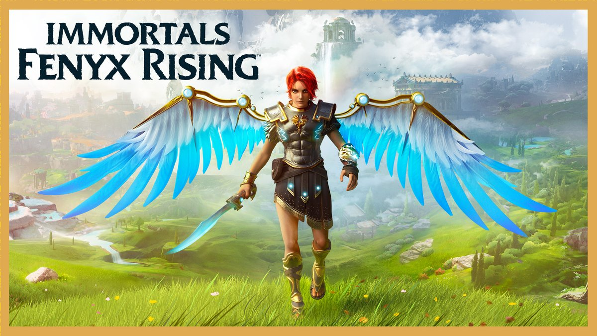 Even the gods need saving sometimes.  Embark on a mythological adventure: