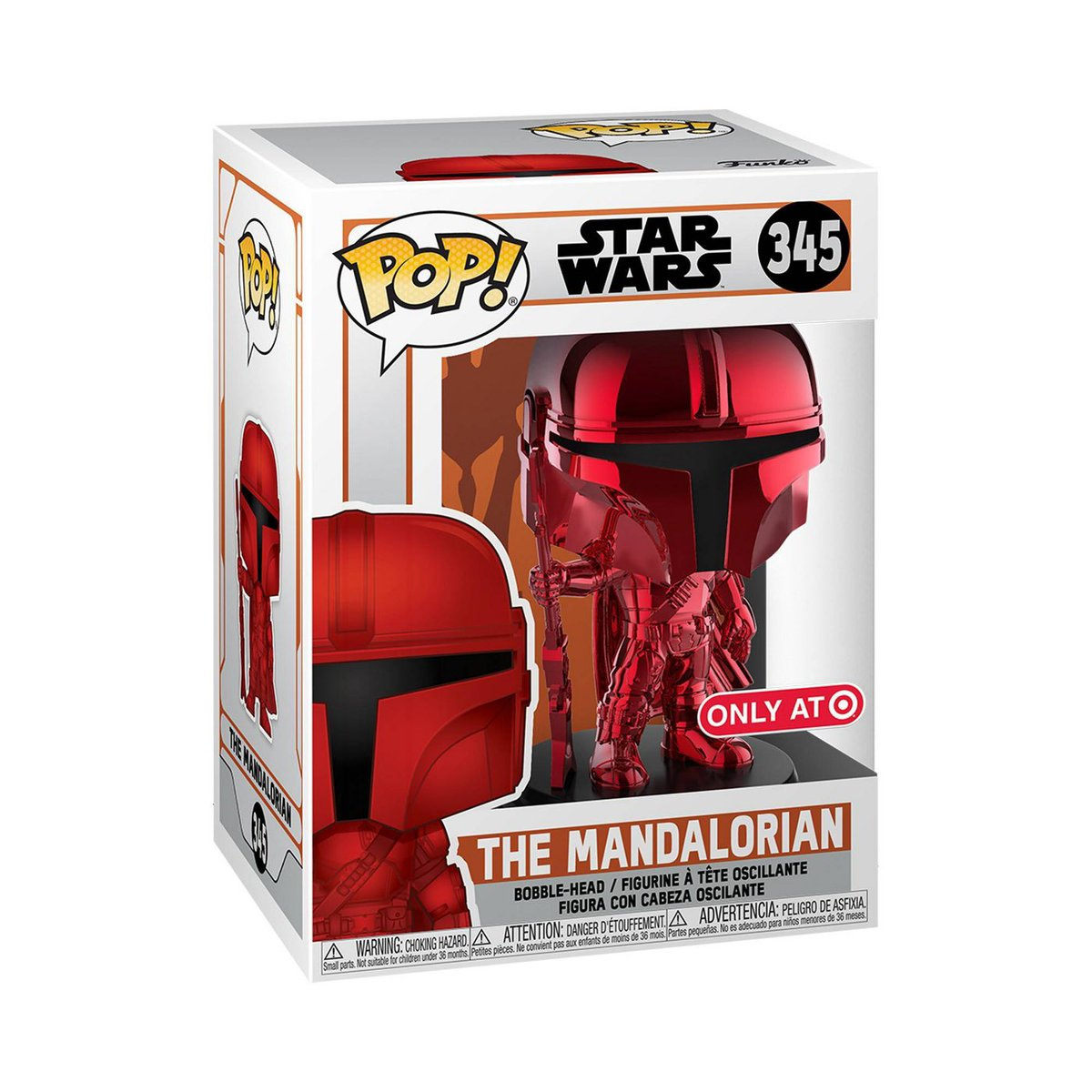 Preorder Now: Target/RedCard exclusive Red Chrome Mandalorian! .