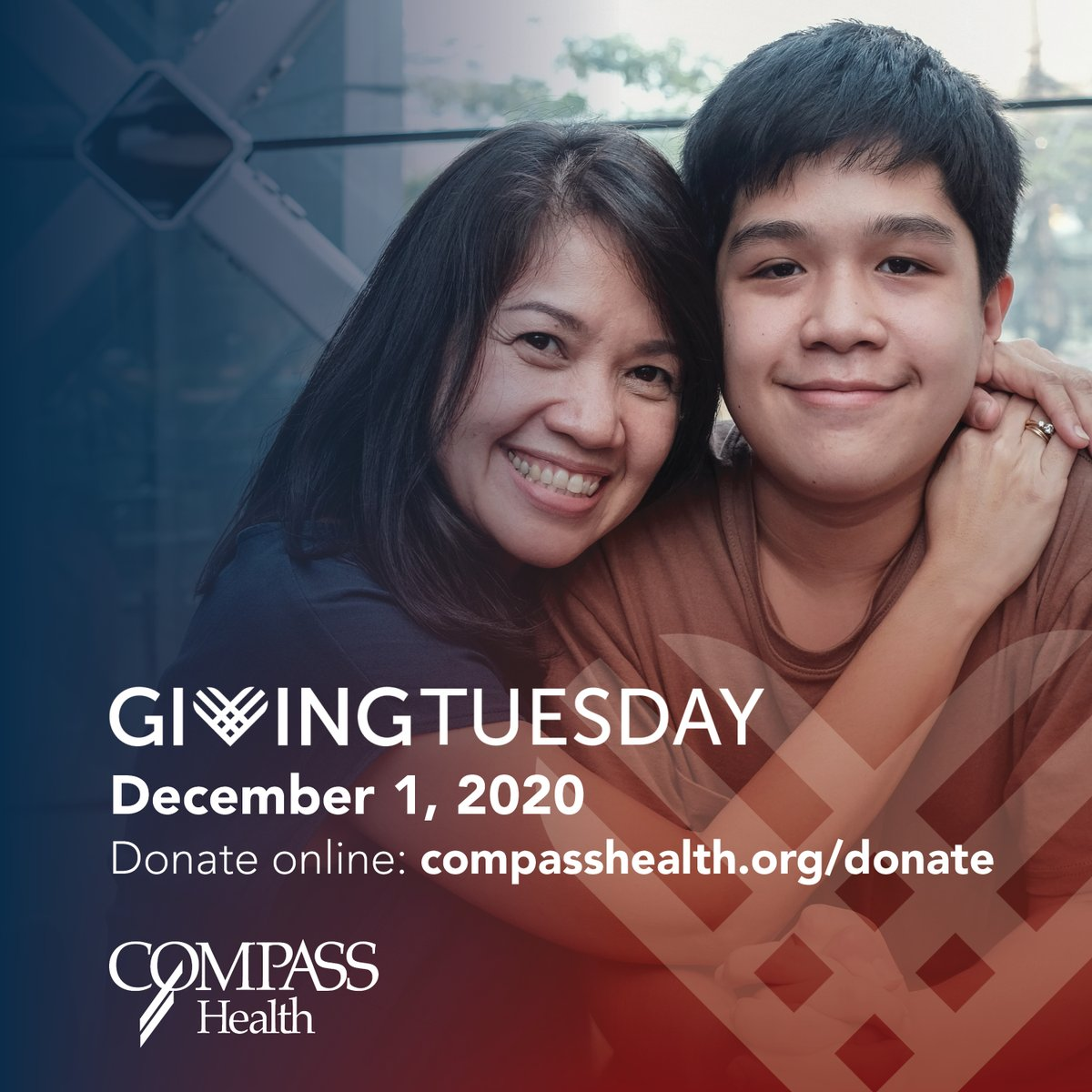 Tomorrow is #GivingTuesday   Your donation to Compass Health directly supports the child, youth, and family mental health services in your community.  Donate now:
