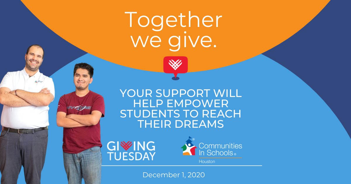 TOMORROW is #GivingTuesday! CIS is committed to empowering students to achieve the dreams they deserve, but we can't do it without YOU!    Donations will be MATCHED up to $2,500 thanks to CIS Board Member, Kelley & Harper Trammell.   Learn more: